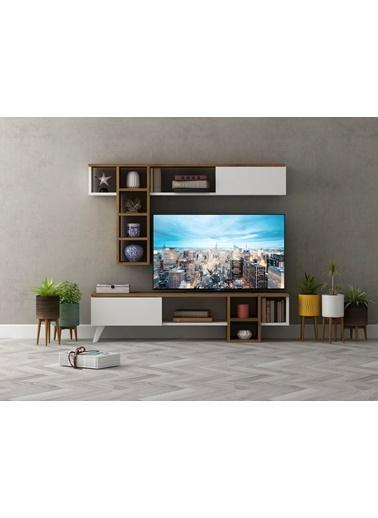 Sanal Mobilya Ramona Tv Ünitesi Beyaz